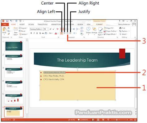 format html placeholder cara memformat dan menyelaraskan align konten