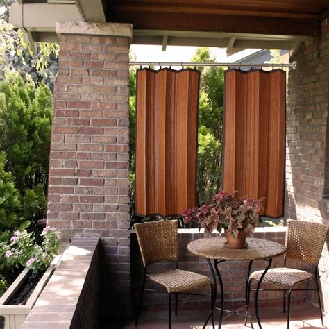 bamboo outdoor curtains 32 best bamboo fence images on pinterest