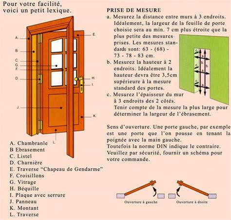 Dormant Porte Bois by Le Dormant D Une Porte Systembase Co