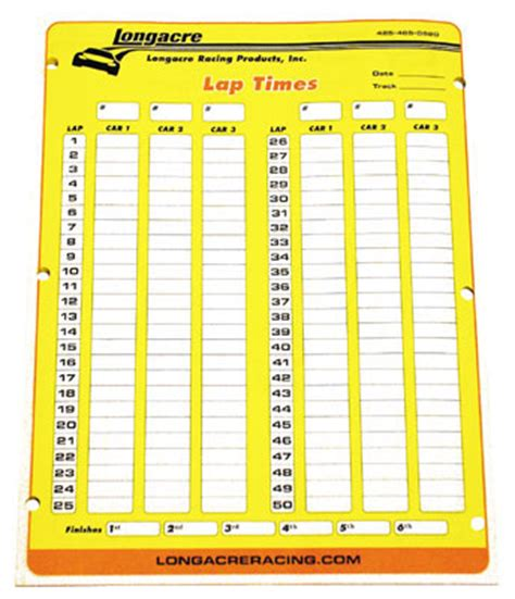 printable lap time sheets 22525 longacre lap time sheets stop watches