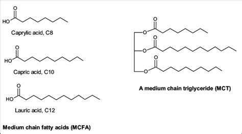 examples  medium chain fatty acids mcfa  medium