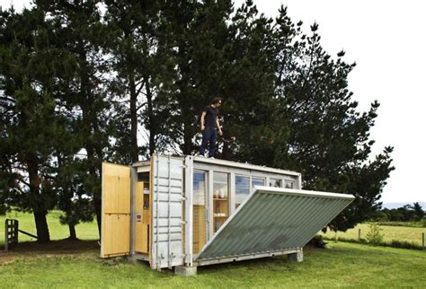 portable home port a bach a portable teeny tiny shipping container home