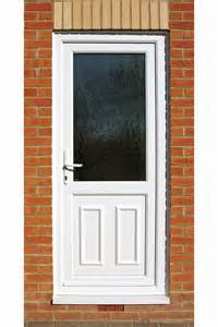 Exterior Back Doors Pvc U Front And Back Doors From Banbury Windows