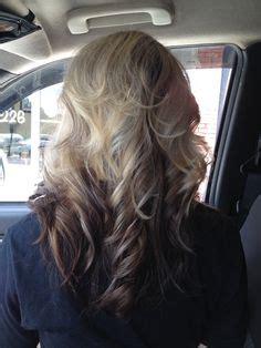 blonde top dark bottom hair hair makeup etc on pinterest blonde highlights