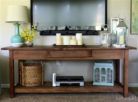 tv decor console table table decor for the home pinterest