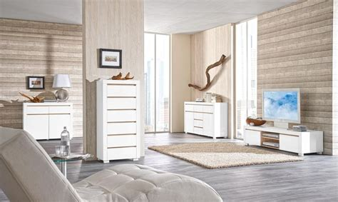 xora esszimmer wohnzimmerm 246 bel in harmonischem wei 223 und eichefarben http