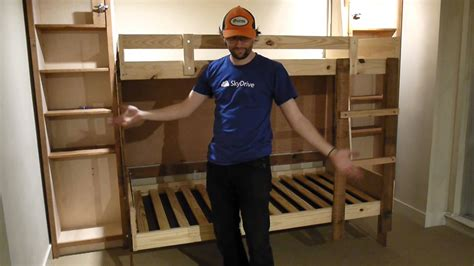 Foldaway Bunk Beds Hideaway Folding Bunk Beds Learnsprout Hq