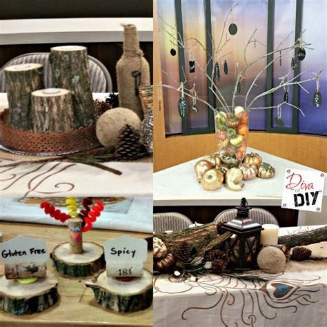 thanksgiving table decorations make these rustic diy thanksgiving table decorations
