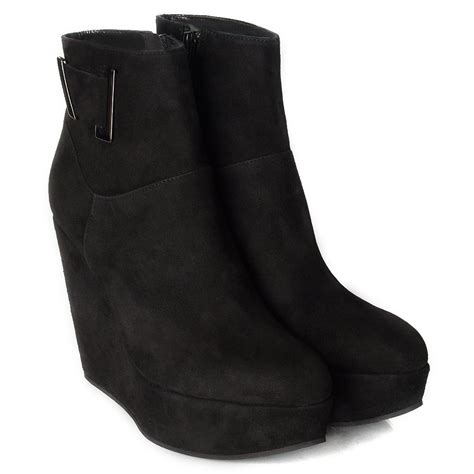 daniel black daru women s wedge ankle boot