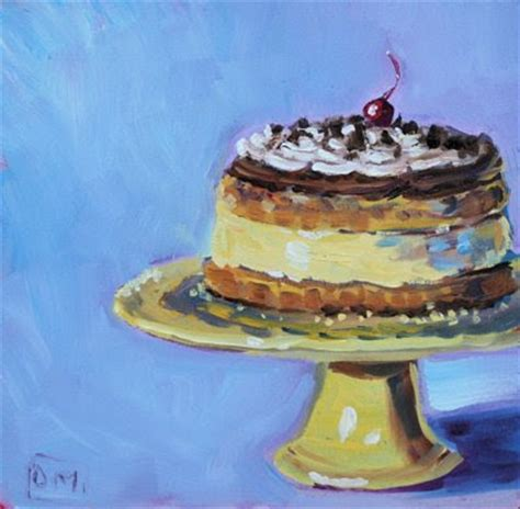 cake painting quot 13 quot daily painting cake