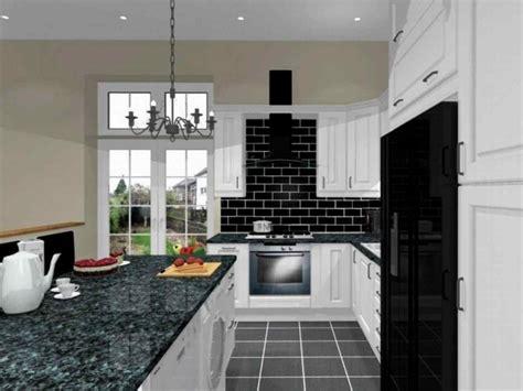 black and white kitchen floor ideas black and white checkered kitchen decor deductour