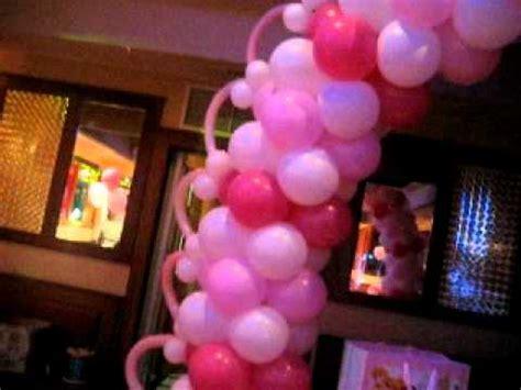 decoracion de globos para bautizo decoracion de globos para bautizo globos con helio decoracion con globos bautizo de ni 209 a