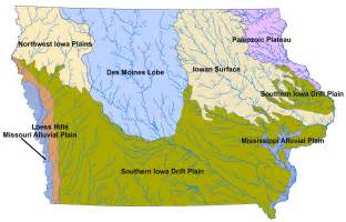 landforms map file landforms of iowa jpg wikimedia commons