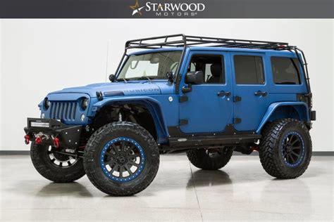 starwood motors jeep blue starwood motors 2015 jeep wrangler unlimited rubicon