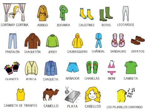 imagenes de ropa en ingles y español prendas de ropa en ingl 233 s para el invierno imagui