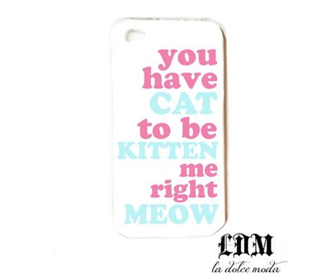 Iphone 4 4s Meow Cat Uniq 50 best awesome phone cases images on mobile