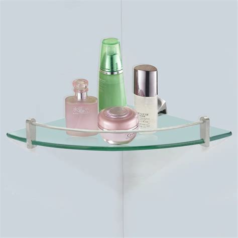 glass shelves bathroom top 20 floating glass shelves for interiors