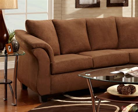 chocolate brown sectional sofa stylish chocolate brown fabric contemporary sectional sofa