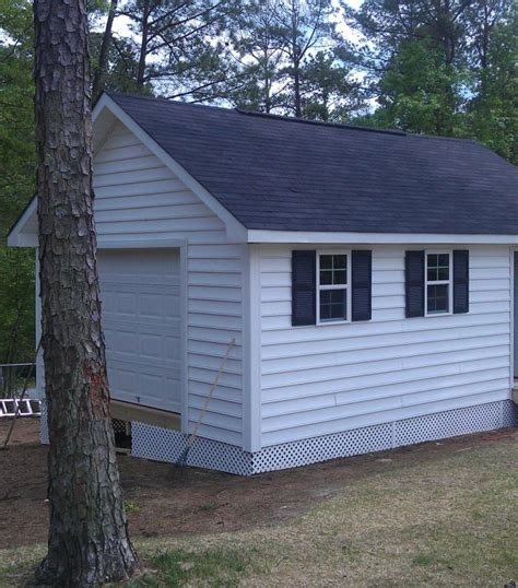 Build On Site Storage Sheds by Vinyl Sided
