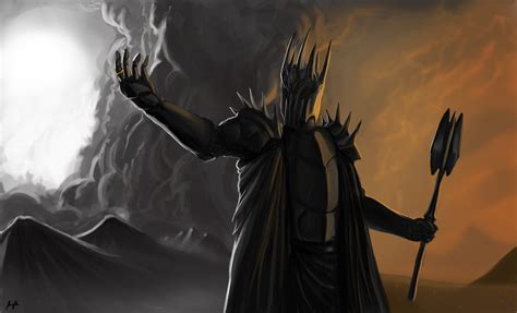 wallpaper dark lord arts lord of the rings dark lord sauron wallpaper