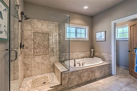master bath tub gorgeous master bath extra large walk in shower glass