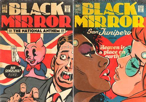 imagenes sorprendentes comicas black mirror una portada de c 243 mic para cada episodio de