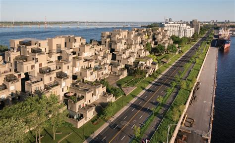 6 Bedroom Floor Plans For House by Moshe Safdie And The Revival Of Habitat 67 Architect Magazine Awards Architects