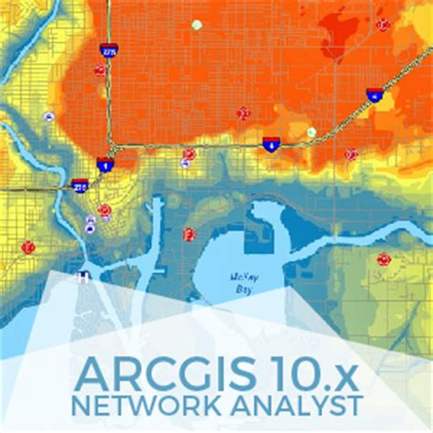 tutorial network analyst arcgis 10 1 arcgis 10 network analyst gis course tyc gis training