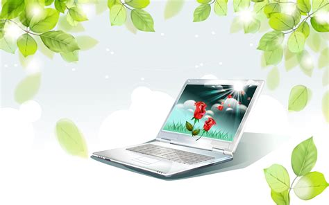 powerpoint themes pc notebook wallpapers group 77