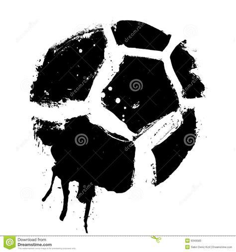 vector del bal 243 n de f 250 tbol de grunge ilustraci 243 n del