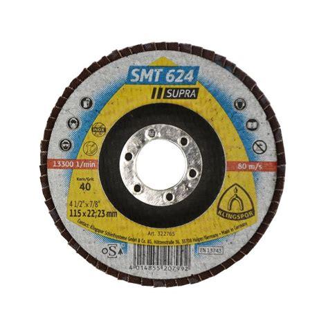 Flap Disc Klingspor Smt 624 flap disc smt 624 temad