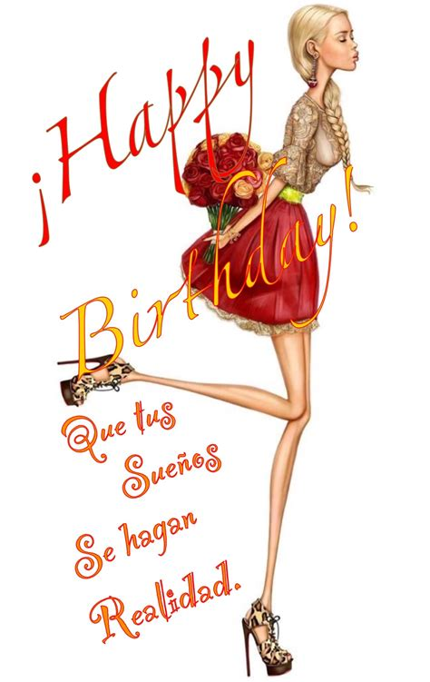 imagenes happy birthday fashion feliz cumple frases pinterest feliz cumple feliz y