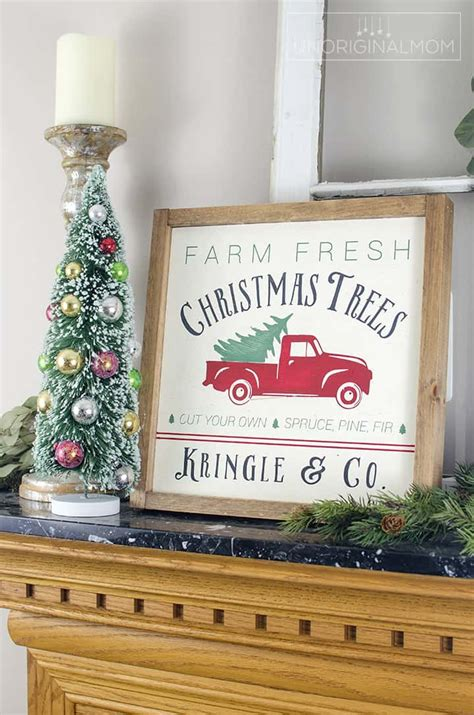diy farmhouse christmas signs    holiday season