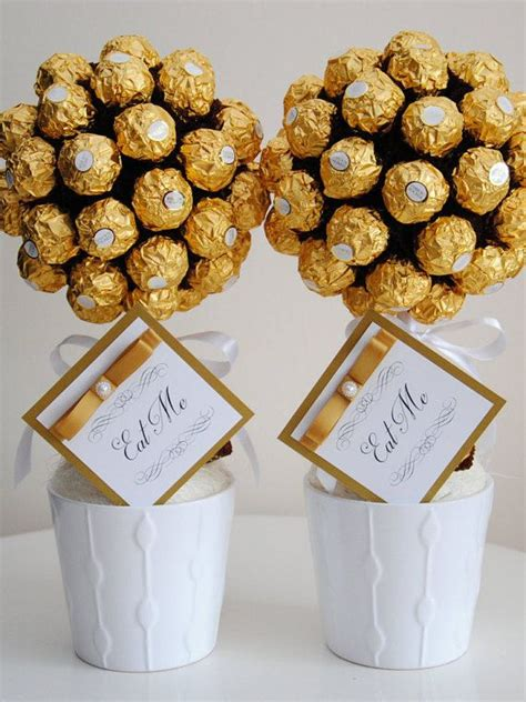 diy ferrero rocher tree sweet tree chocolate personalised gift ferrero rocher birthday wedding anniversary gifts