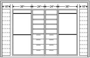 Average Depth Of Kitchen Cabinets closet sizing custom garage cabinets