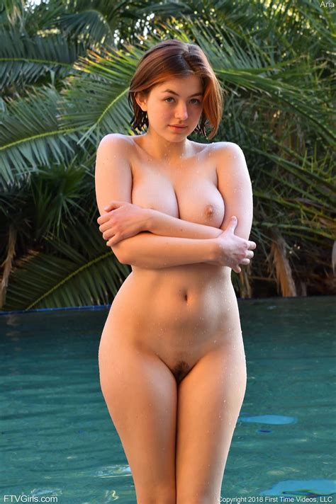 Aria Ftv Masturbates Before Taking A Swim In Intimately