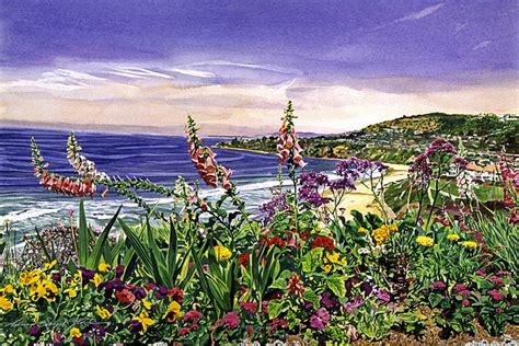 laguna niguel images of america books laguna niguel garden painting by david lloyd