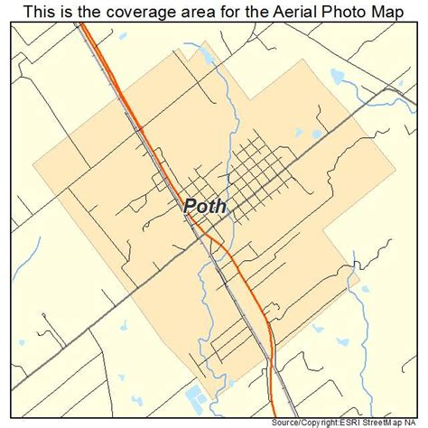 poth texas map aerial photography map of poth tx texas