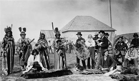 Picture Post Nation 4 by File Big At Fort Pitt Saskatchewan In 1884 Jpg
