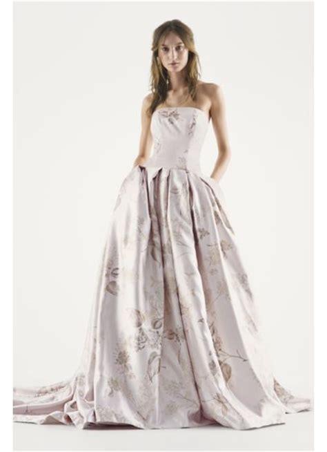 White Wedding Dress Bible by White By Vera Wang Strapless Floral Wedding Dress David