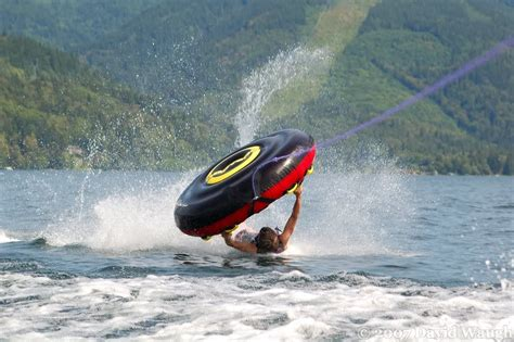 boat crash raystown lake another tubing wipeout