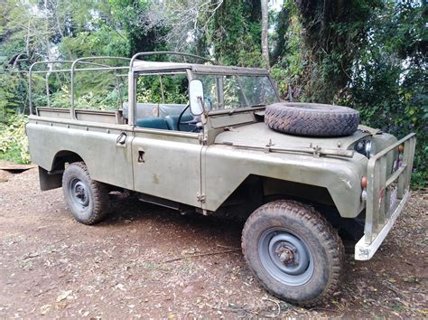land rover series iia lwb jcw  cars