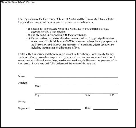 simple photography release forms anuvrat info