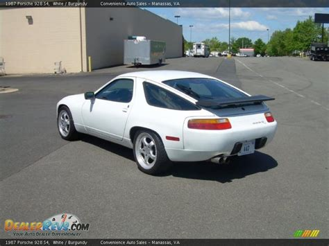 porsche 928 white 1987 porsche 928 s4 white burgundy photo 6 dealerrevs com