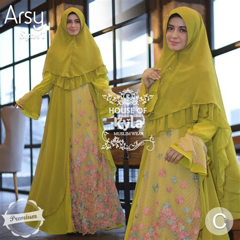 Gamis Tamara By House Of Kyla arsy syar i premium by house of kyla melody fashion