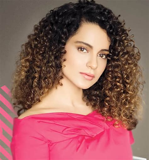 Curly Hairstyles by Kangana Ranaut Curly Hairstyles Pictures New
