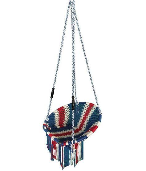 indoor rope swing kaushalendra hammocks hanging nylon single patio chair