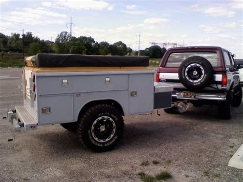 trailer bed pin truck bed cing on pinterest