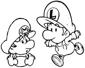 mario and luigi coloring pages free coloring pages of 8 bit mario and luigi