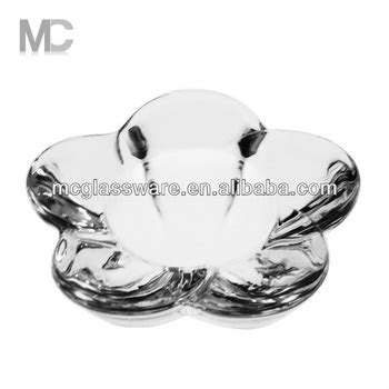 Glass Tealight Candle Holders In The Shape Of Candlesticks by Flower Shaped Decorative Votive Tealight Glass Candle